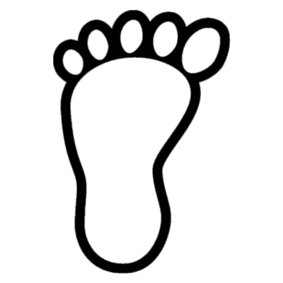 Carbon png stickpng bare. Footprint transparent free library