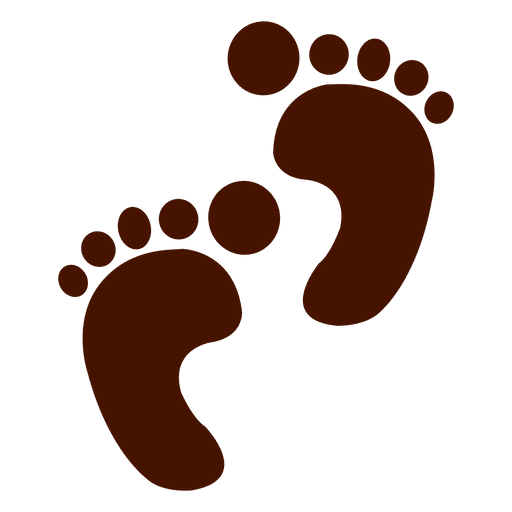 Footprint transparent. Human footprints png svg