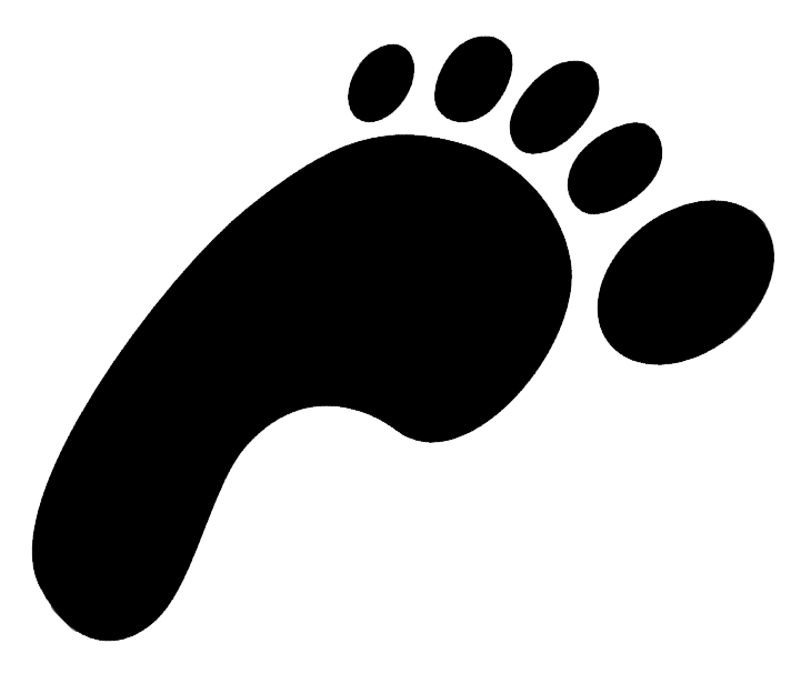 Footprints clipart clear background. Png images transparent free