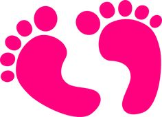 Footprints clipart clear background. Illustration of a purple
