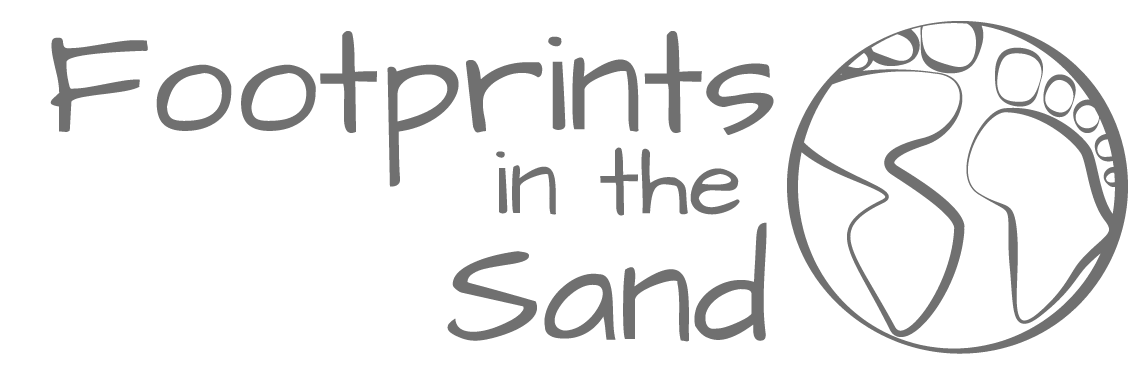 Footprints in the sand png. Travel stories and photography