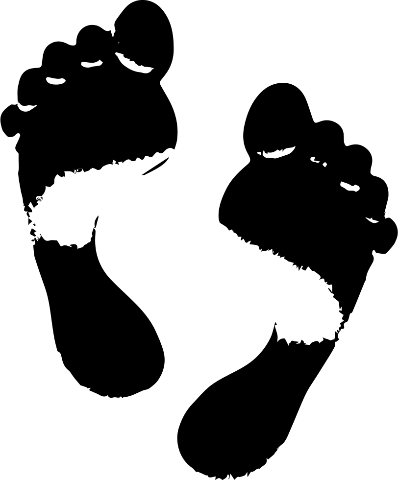 Footprints svg male. Png icon free download