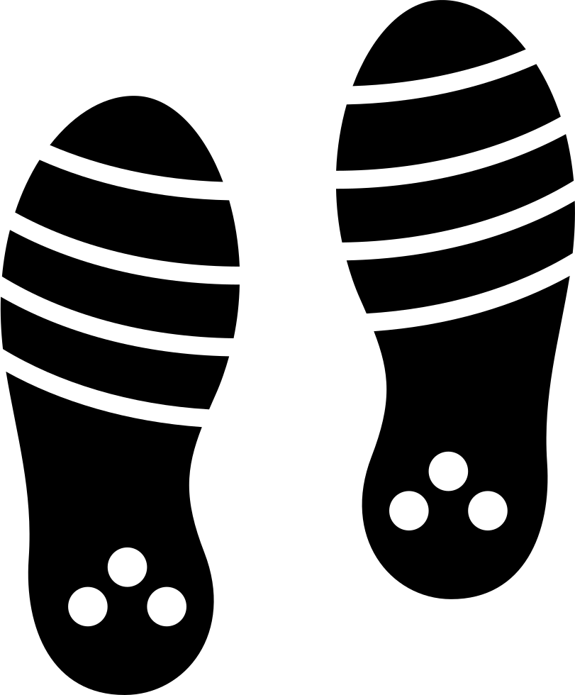 Footprints svg line. Png icon free download