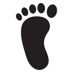 Png or svg to. Footprint transparent clip art free library