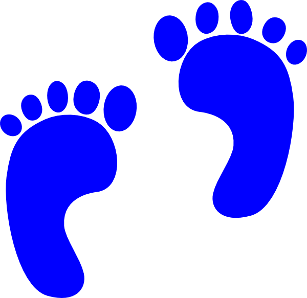 Footprints svg draw baby. Clipart footprint at getdrawings