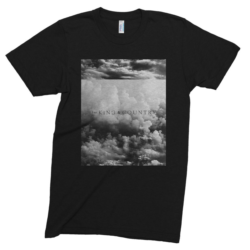 For king and country logo png. Cloud tee