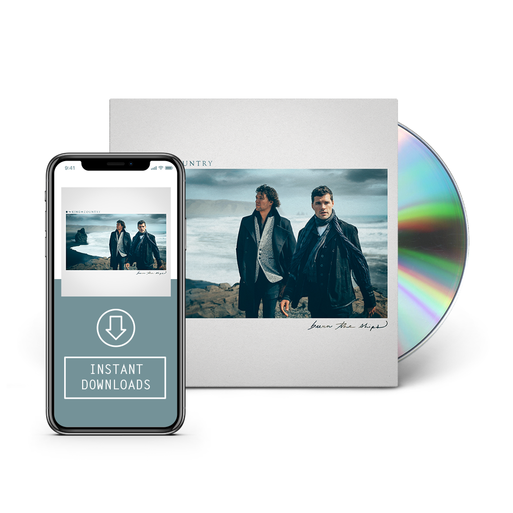 For king and country logo png. Burn the ships cd