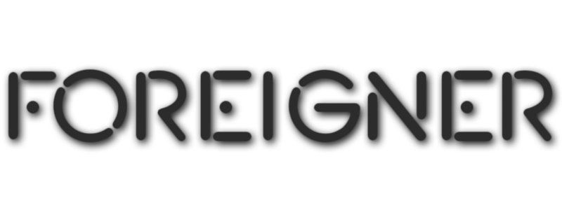 foreigner band logo png