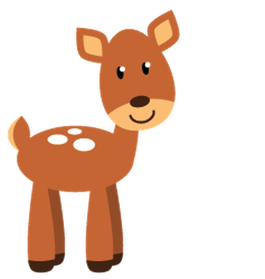 Forest animals png. Cute woodland and clipart