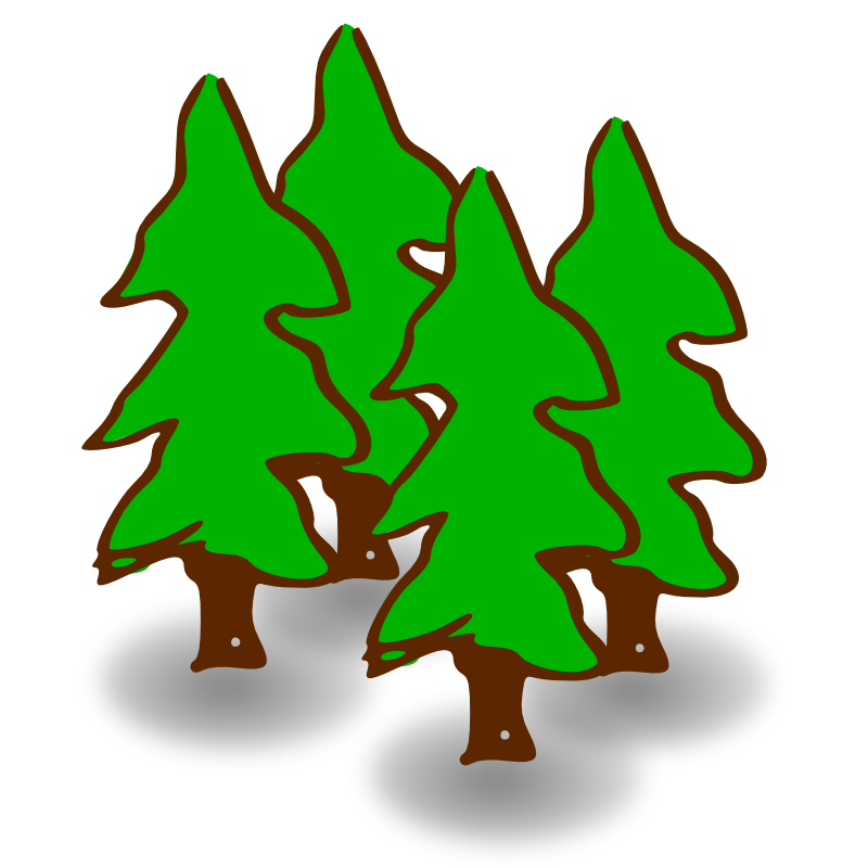 Forest clipart. Free forestry cliparts download