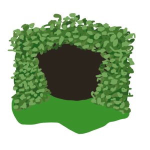 Forest clipart cave in. Free images at clker