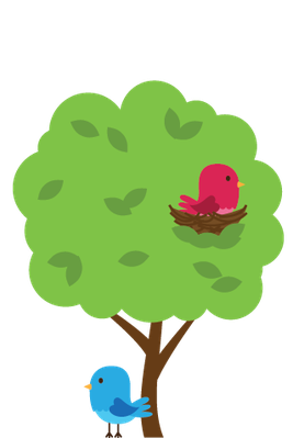 Woodland and animals the. Forest clipart cute clip royalty free