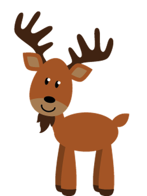 Forest clipart cute. Woodland and animals clip