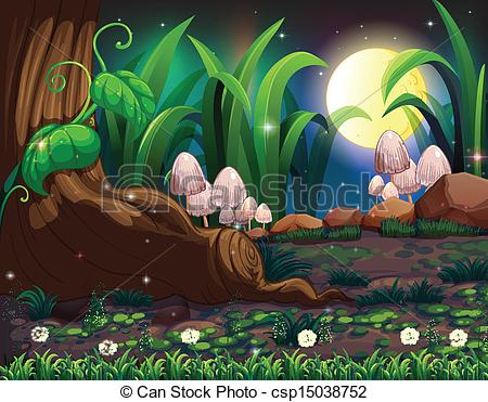Forest clipart enchanted forest jpg download