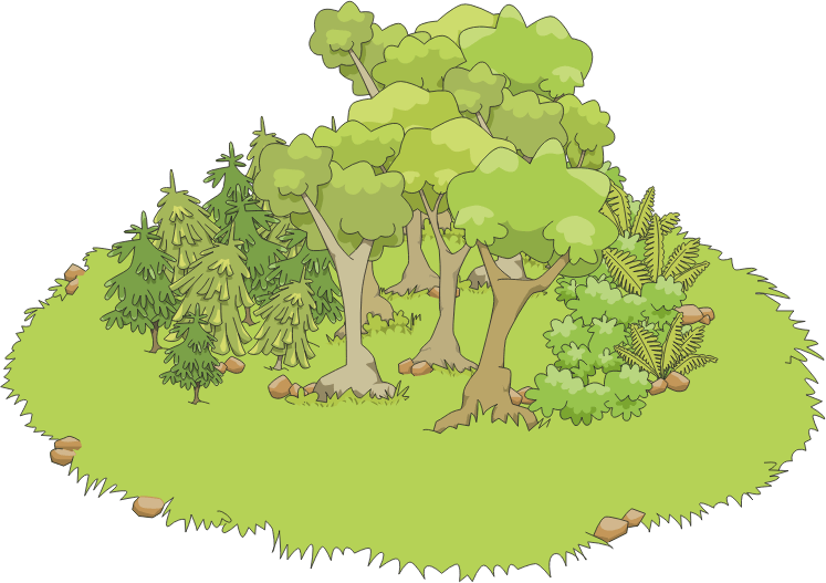 Free school cliparts download. Forest clipart forest border vector stock