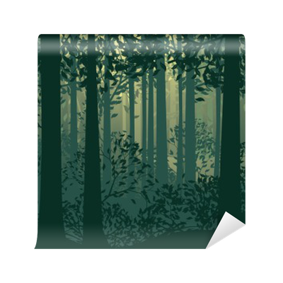 Badge images gallery for. Forest clipart forest border image black and white library