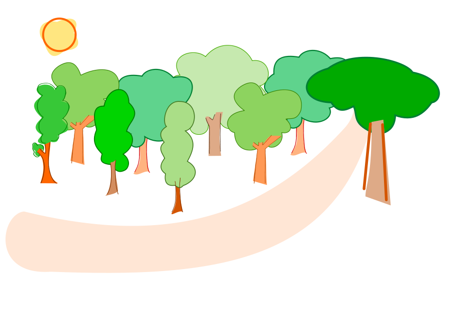Free scenery pictures download. Forest clipart forest scene jpg free