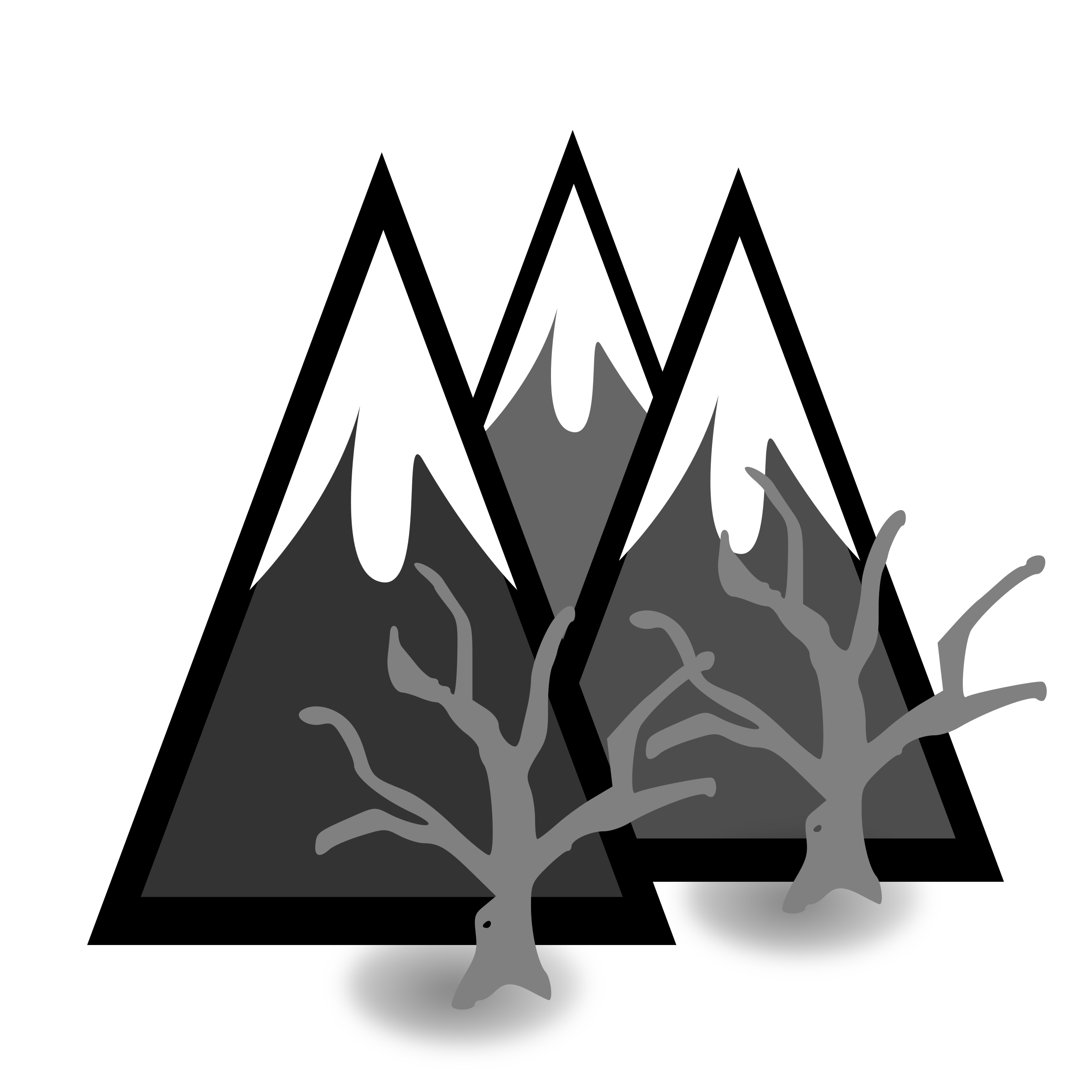 Dead big image png. Forest clipart mountains jpg transparent library