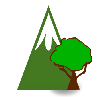 Cover forestry woodland tree. Forest clipart mountains svg library download