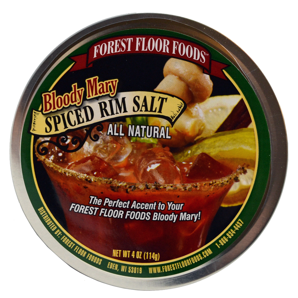 Forest floor png. Bloody mary spiced rim