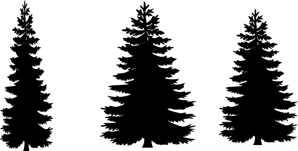 Tree silhouette at getdrawings. Forest svg pine svg free download