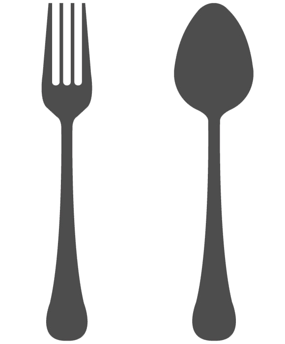 Fork and spoon png. Transparent background mart