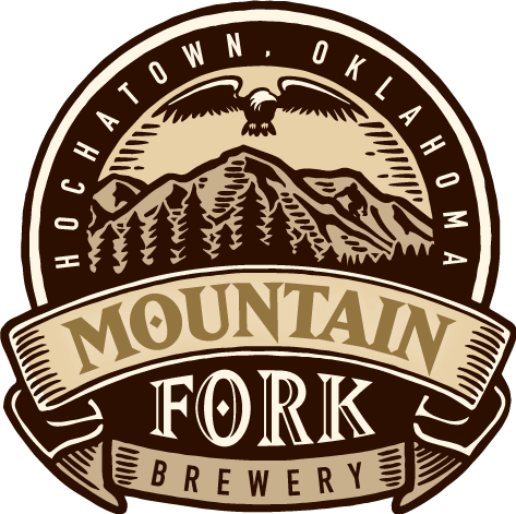Fork clipart bent fork. Mountain brewery