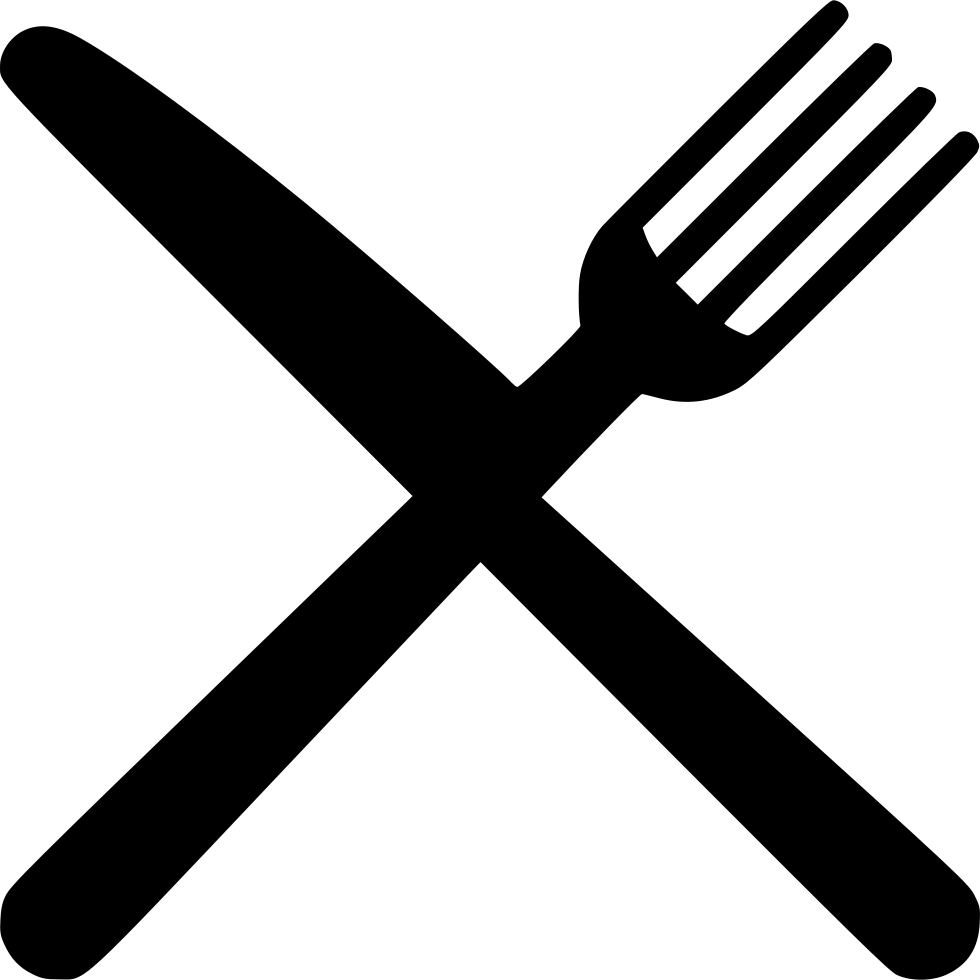 Fork knife clipart png. Svg icon free download