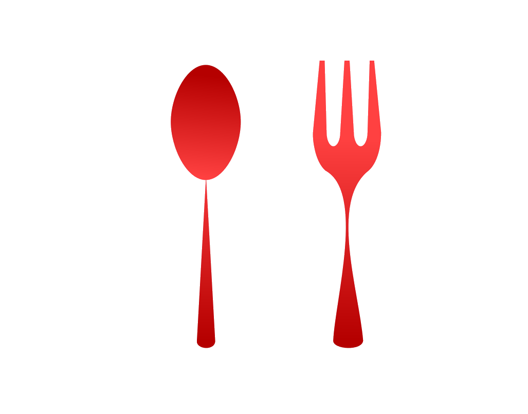 Fork spoon png. Logo font and transprent