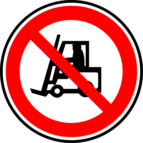 Forklift clipart. Do not have
