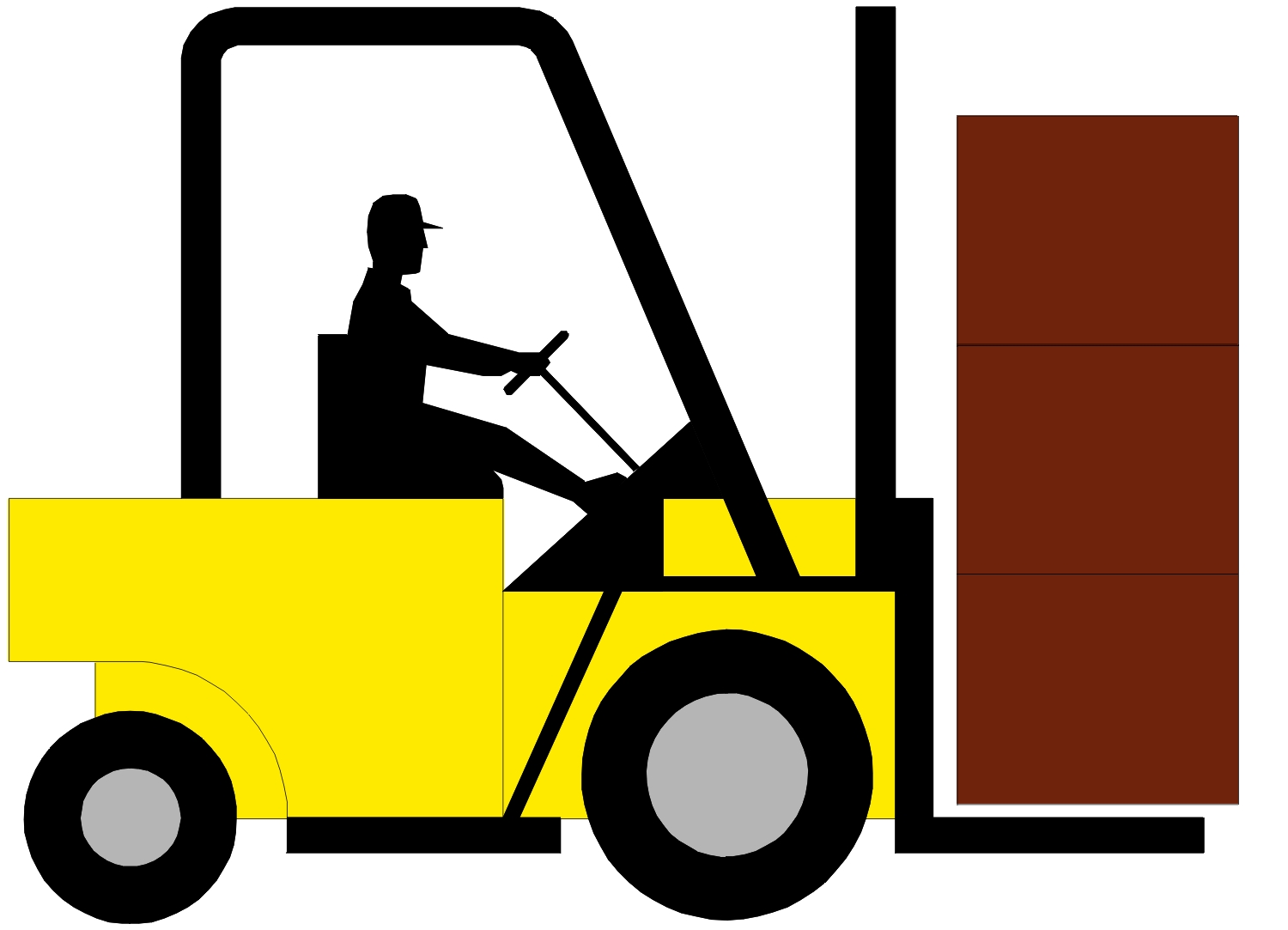 Forklift clipart. At getdrawings com free