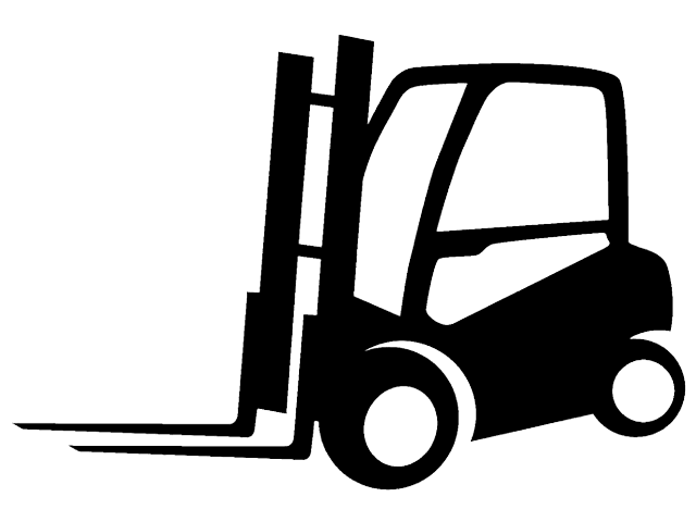 Forklift clipart black and white. Bs forklifts detailed search