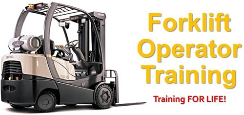 Forklift clipart forklift training. Osha required package alternative