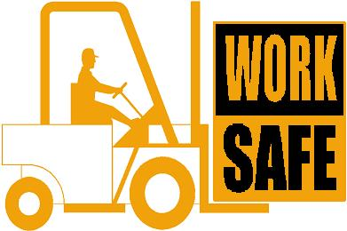 Thinking about safety anderson. Forklift clipart forklift training picture transparent download