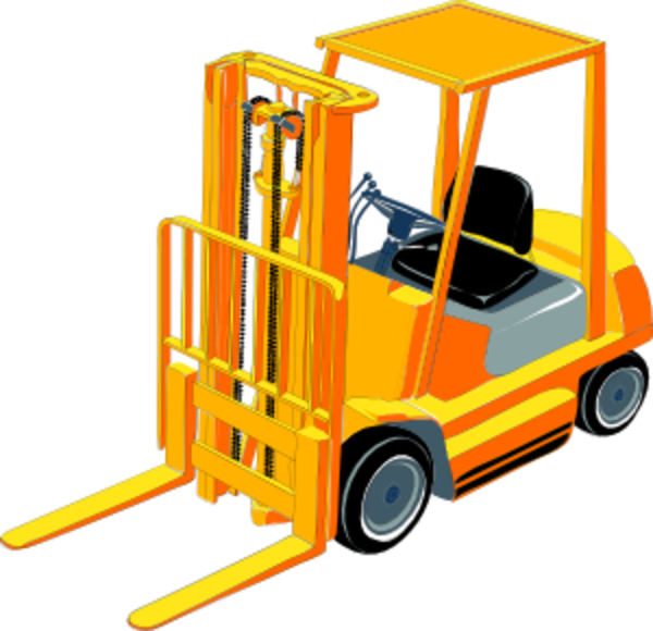 Forklift clipart gambar. Free images at clker