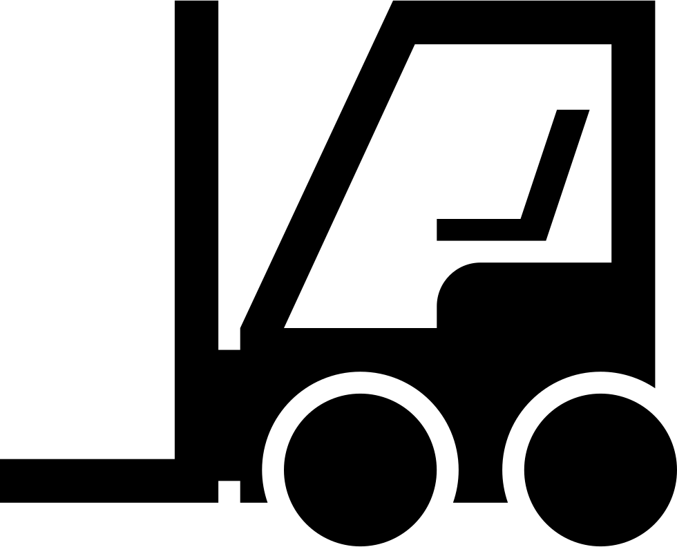 Forklift clipart gambar. Svg png icon free