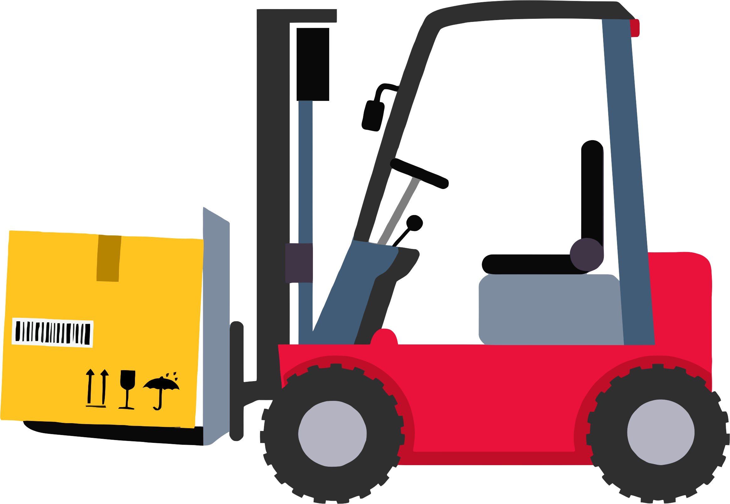 Forklift clipart small warehouse. Big image png