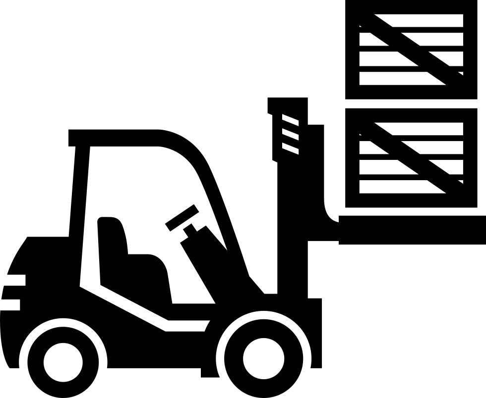 Forklift clipart svg. Png icon free download