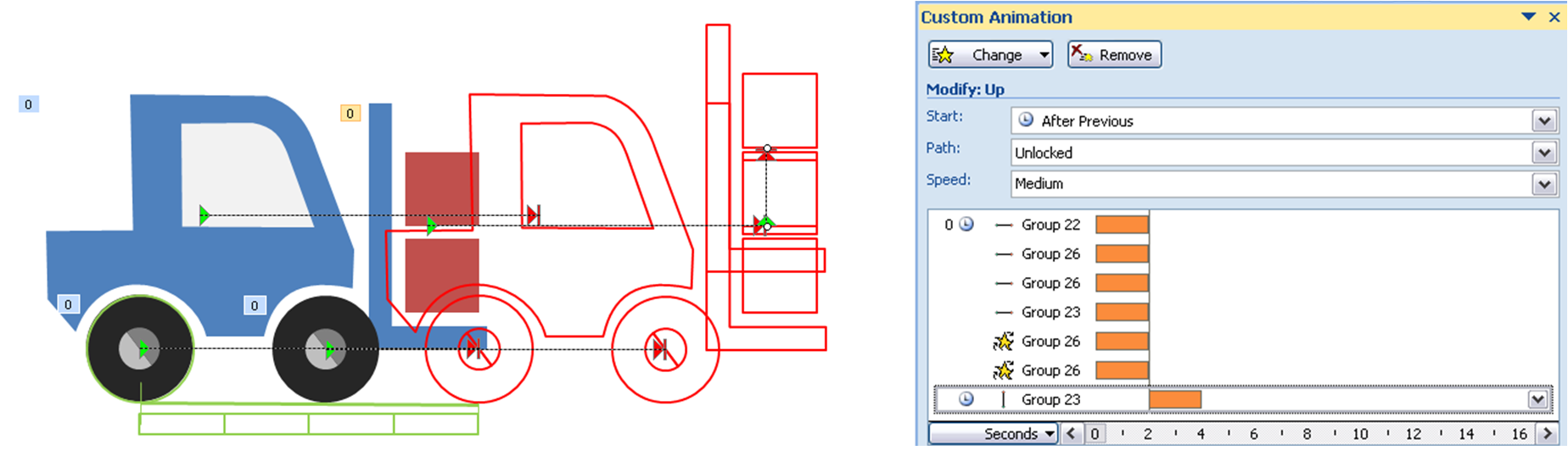 Powerpointy fork. Forklift drawing perspective png transparent library