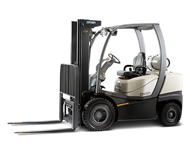 Forklift drawing counterbalanced. Trucks for every application