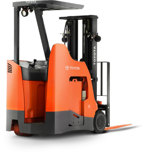 Forklift drawing toyota. Material handling industrial lift
