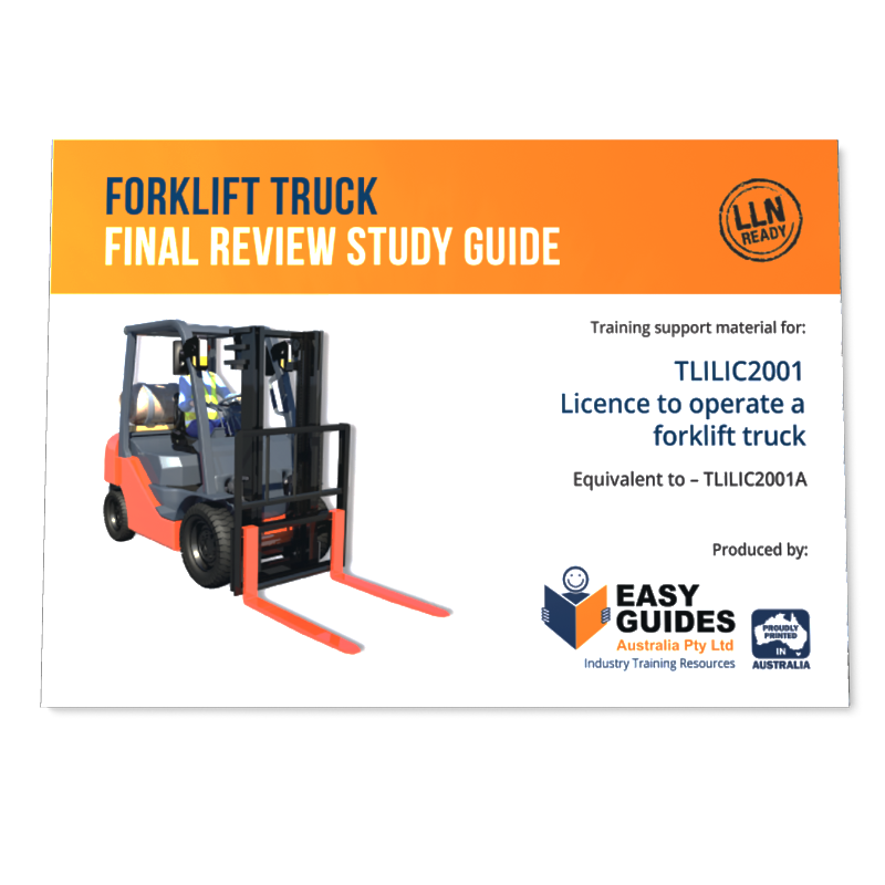 Forklift drawing training manual. Study guide instructor certification
