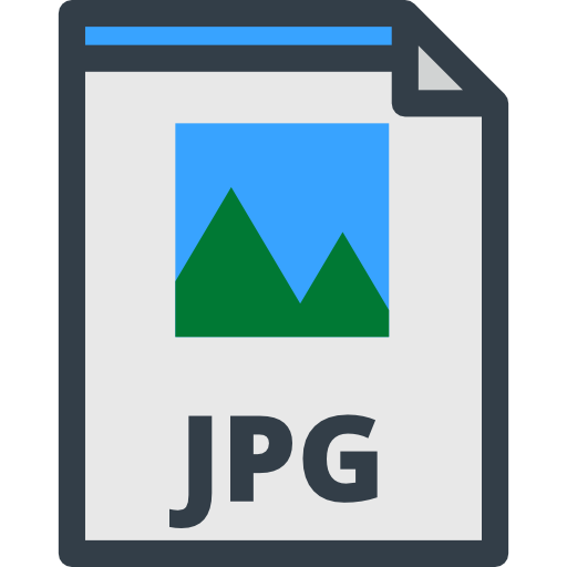 Format png a jpg. File jpeg files and
