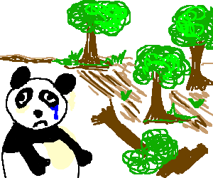 Forrest drawing forest clearing. Deforestation at getdrawings com