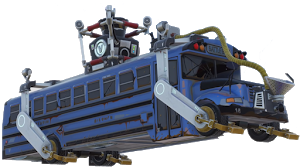 Download hd motorbus rocket. Fortnite bus png clipart black and white library
