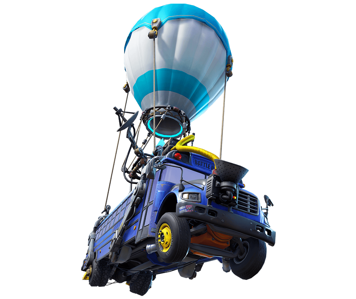 Fortnite battle bus png. The is building