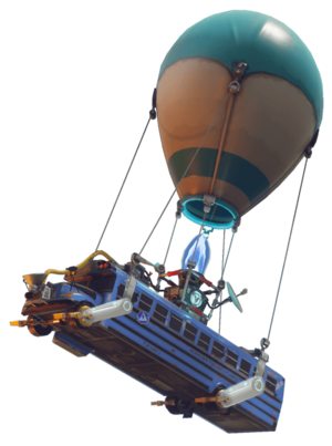 fortnite battle bus png