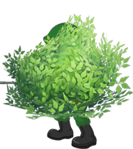 Fortnite bush png. Battle royale plays top