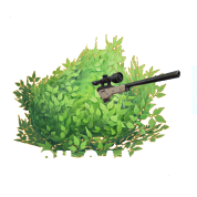 Fortnite bush png. Camper battle royale victory