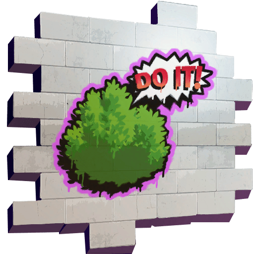 Fortnite bush png. Do it sprays skins